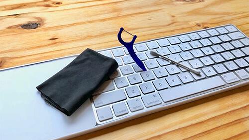 تمیز کردن لوازم جانبی دستگاه های اپل