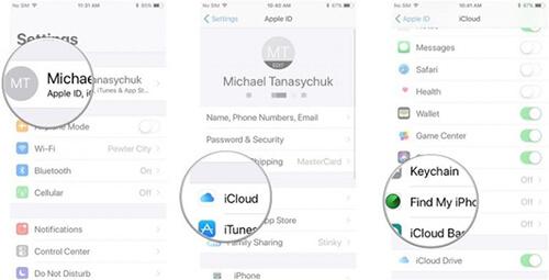 چگونه قابلیت find my iPhone را فعال کنیم؟