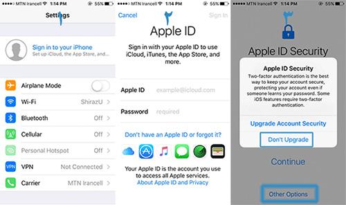 روش استفاده از اپل آیدی (Apple ID)