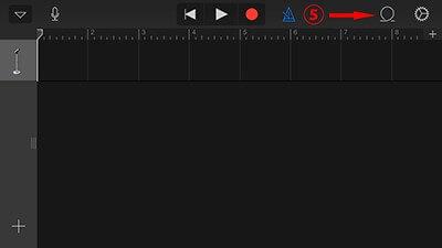 استفاده از برنامه GarageBand برای ساخت رینگتون آیفون5