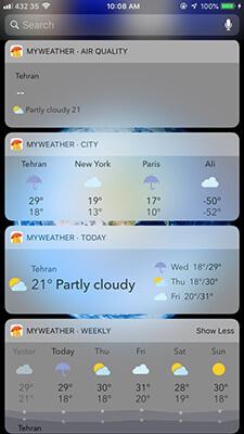 نرم افزار آب و هوا