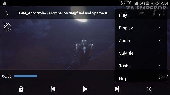 اپلیکیشن MX Player