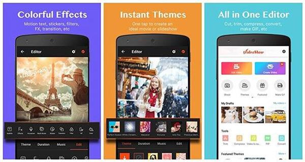 VideoShow Video Editor یک اپلیکیشن همه کاره ویرایش فیلم در گوشی