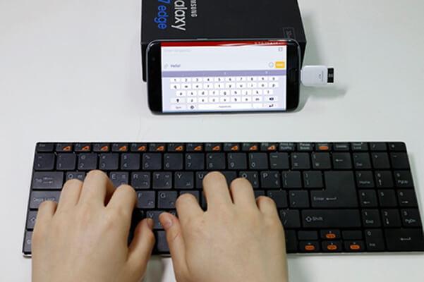 آموزش اتصال کیبورد و موس به گوشی 1
