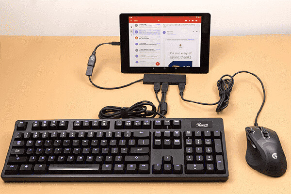 اتصال چندین وسیله جانبی به گوشی اندروید