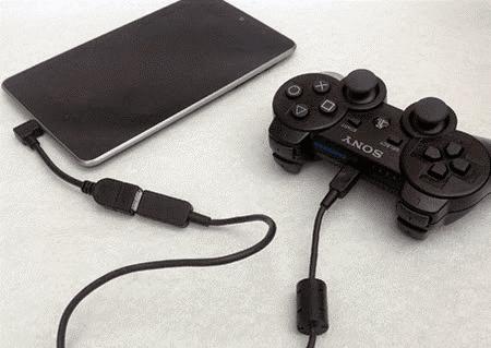 اتصال گیم پد (Gamepad)