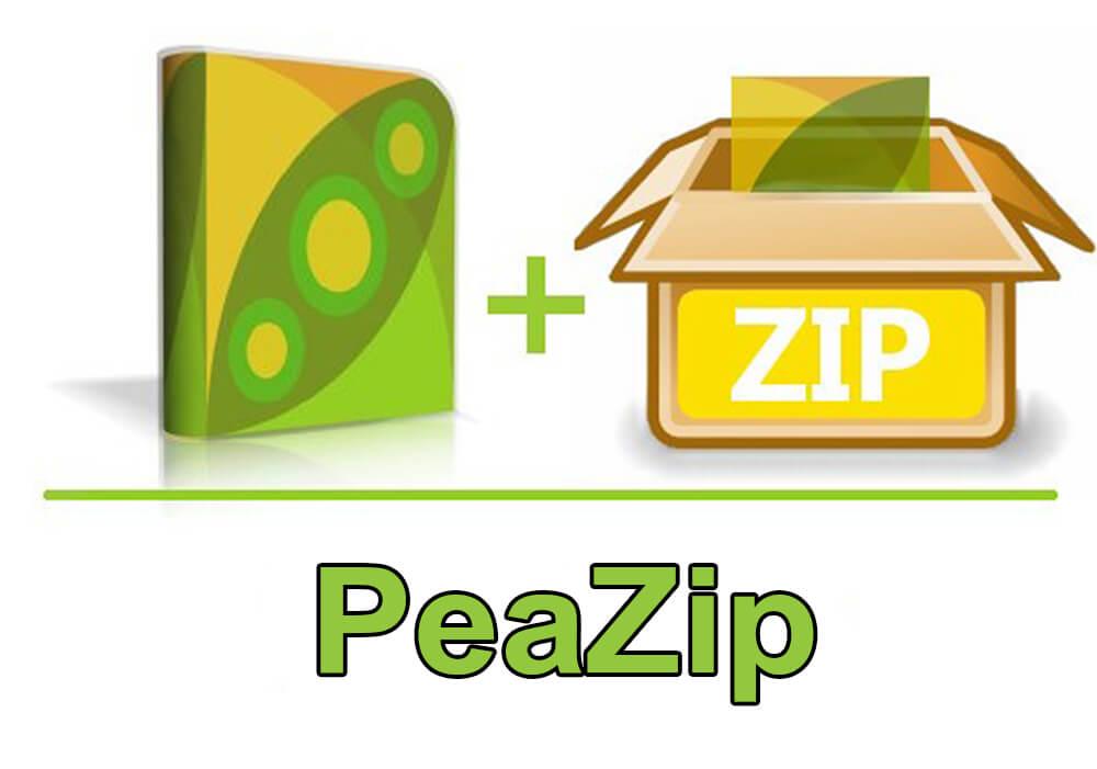 معرفی نرم افزار PeaZip