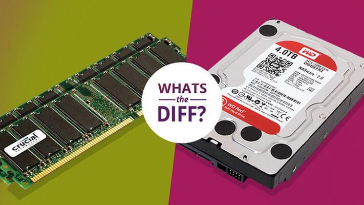 تفاوت HDD با SSD