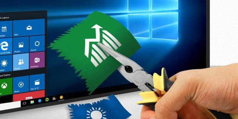 آموزش حذف نرم افزارهای غیر ضروری