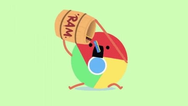کاهش مصرف رم و سی پی یو در گوگل کروم