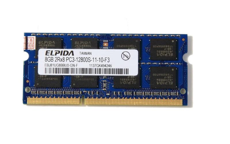 قیمت رم DDR3 الپیدا مدل pc3l هشت گیگ -12800-1600