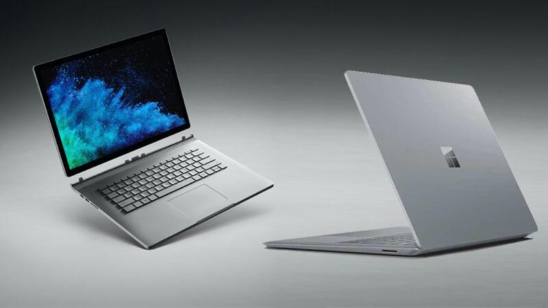 تفاوت سرفیس بوک با سرفیس لپ تاپ در چیست؟