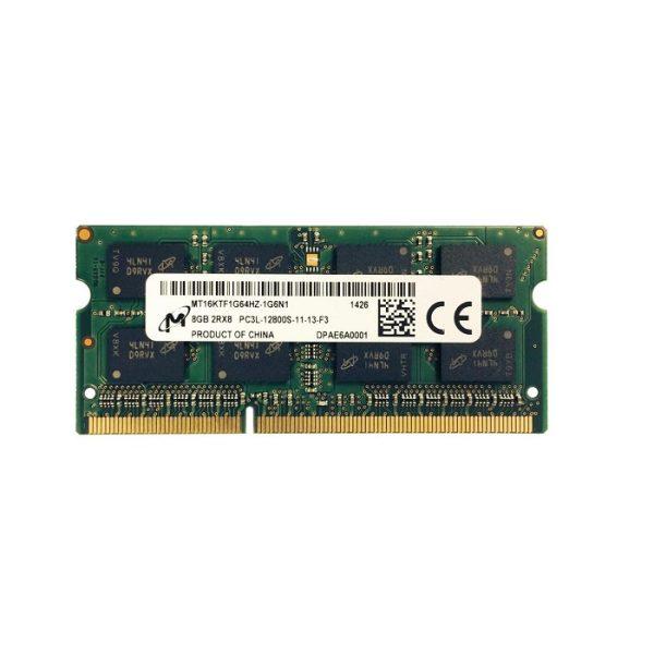 قیمت رم DDR3 مدل pc3l هشت گیگ-12800