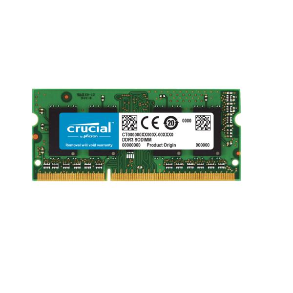 قیمت رم DDR3 برند Crucial چهار گیگ-12800-1600