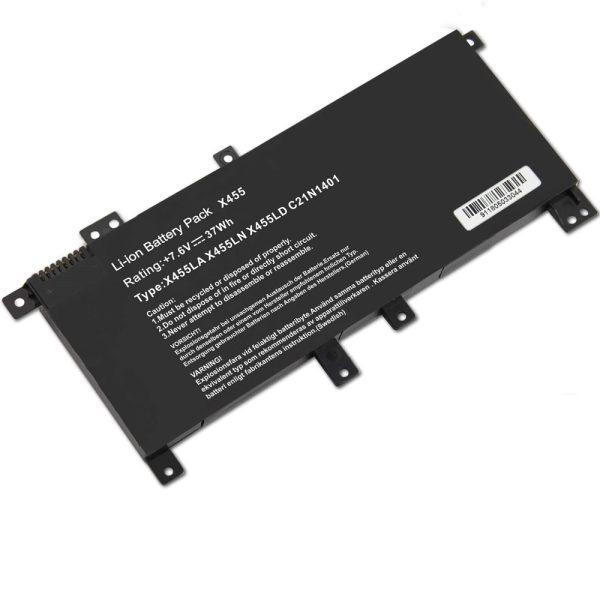 اطلاعات باتری لپ تاپ ایسوس X455_C21N1401 مشکی-داخلی