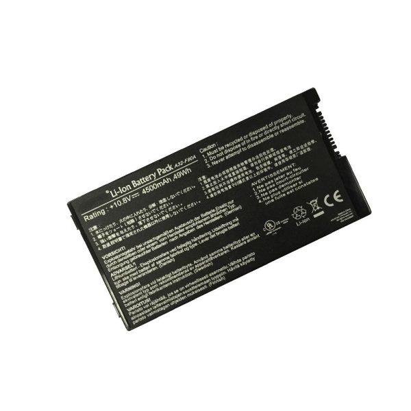 قیمت باتری لپ تاپ ایسوس F80-6Cell