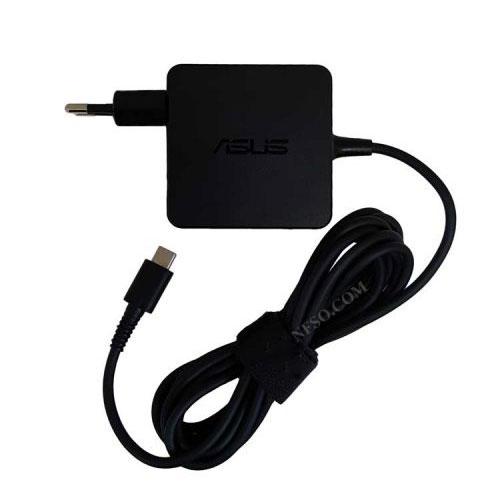 خرید آداپتور تبلت-موبایل-لپ تاپ 20V 3.25A-20V 2.25A-15V 3A-12V 3A-5V 2A Type C مربعی