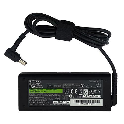 خرید آداپتور لپ تاپ سونی 16V 4A