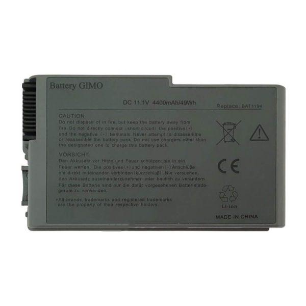 باتری لپ تاپ دل Latitude D500-D600-6Cell