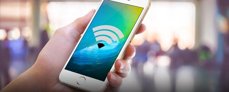 عدم اتصال گوشی به وای فای