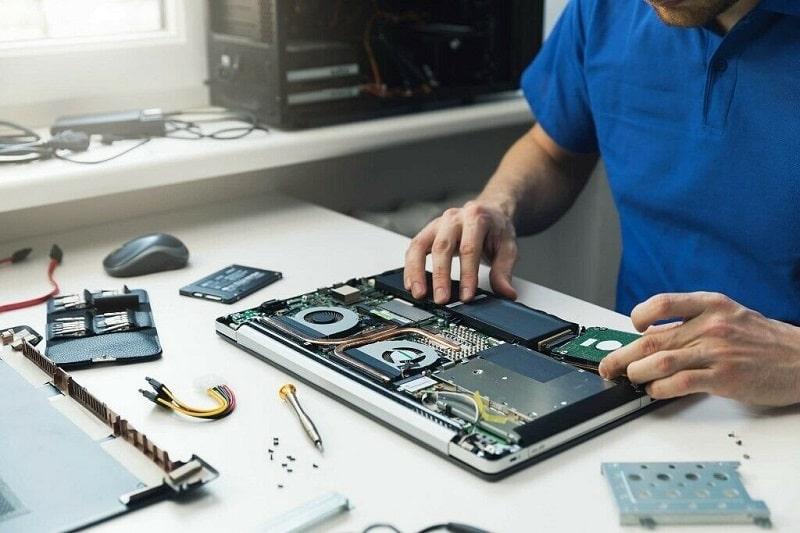 تعمیرات لپ تاپ و تامین قطعات آن