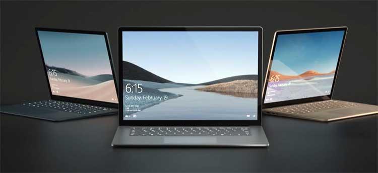 مایکروسافت سرفیس لپ تاپ 4