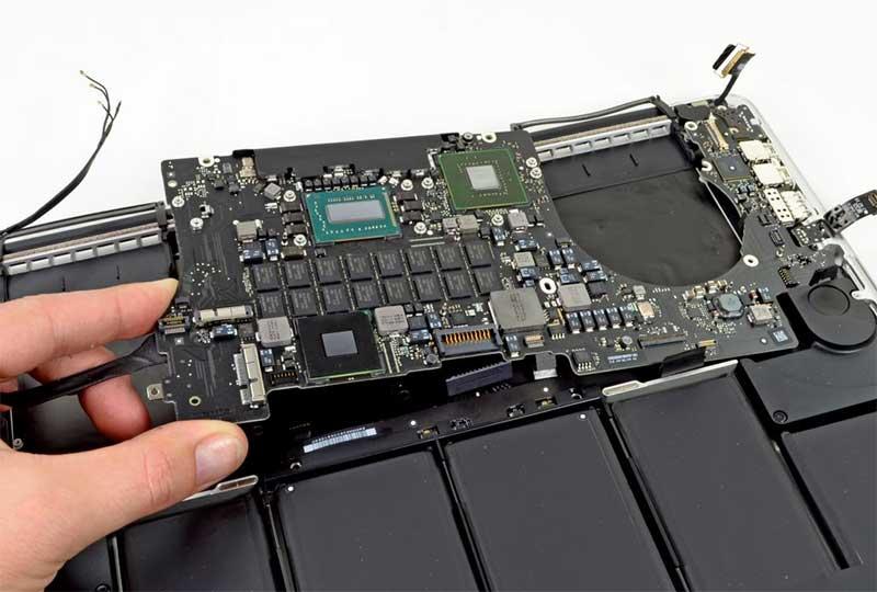 تعمیر لپ تاپ اپل