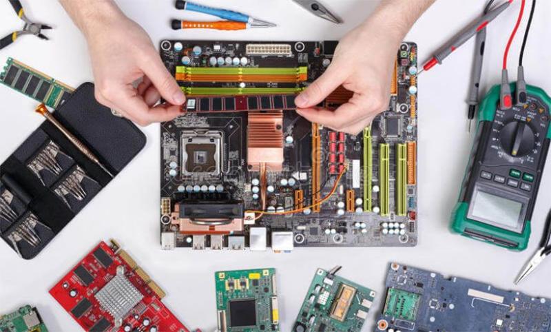 مراحل عیب یابی و تعمیر مادربرد کامپیوتر