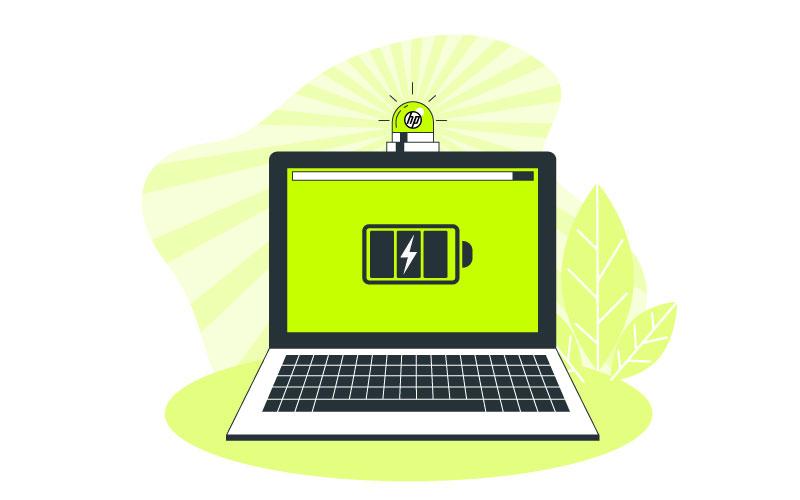 وقتی باتری لپ تاپ HP شارژ نمی شود چه کنیم؟