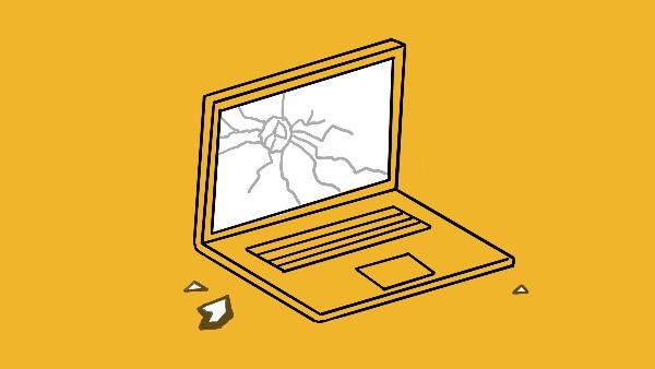 مشکلات صفحه نمایش لپ تاپ